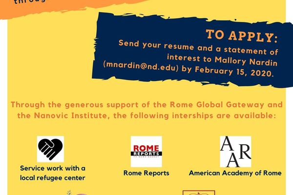 Rome Summer Internship Program 1