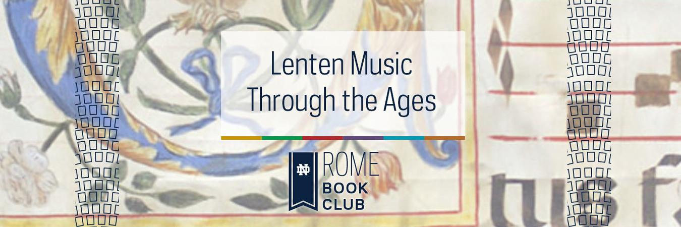 Book Club Graphics Rome Lenten Musicweb Banner